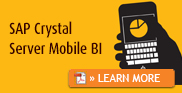 SAP Crystal Server Mobile BI