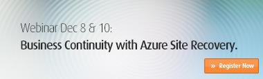 Azure Webinar - Dec 8 & 10