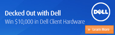 Decked Out With Dell - win $10,000 in Dell Client HW