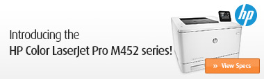 Introducing the HP Color LaserJet Pro M452 series!