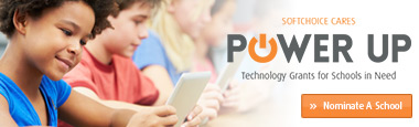 Softchoice Cares Power Up - Technology Grants