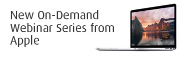 New On-Demand Webinar Series From Apple
