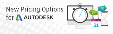 New Pricing Options for AutoDesk