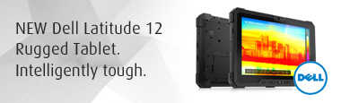 Dell Latitude 12 Rugged Tablet. Intelligently tough.