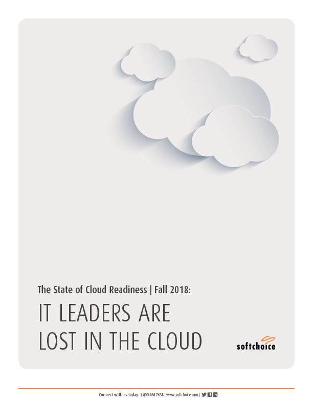 The State of Cloud Readiness Fall 2018