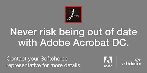 Never risk being out of date with Adobe Acrobat DC