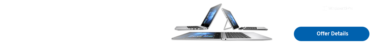 Modernize with HP Windows 10 Pro devices powered Intel