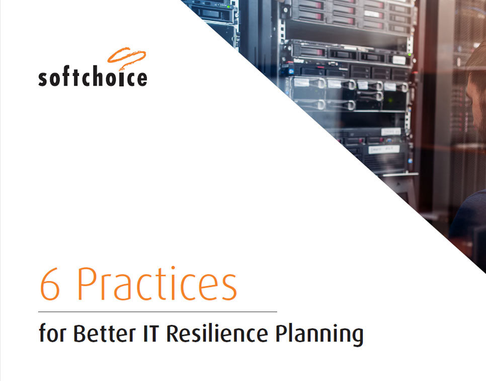 6 Practices for Better IT Resiliency Planning Guide