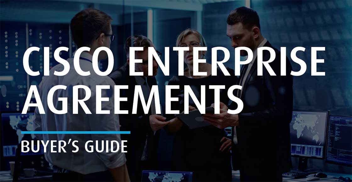 Cisco Enterprise Agreement Buyers Guide Cover