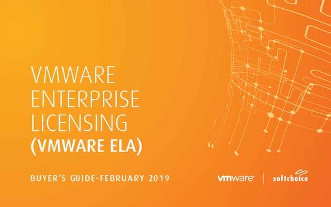 VMware Enterprise Licensing Agreement  Simplify management