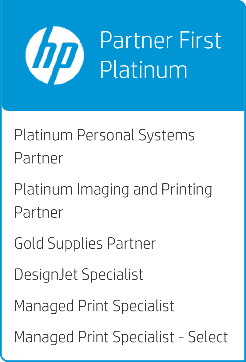 HP Platinum Partner logo