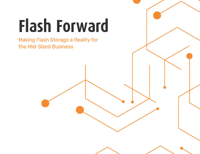 Flash Forward: Making Flash Storage a Reality for the Mid-Sized Business