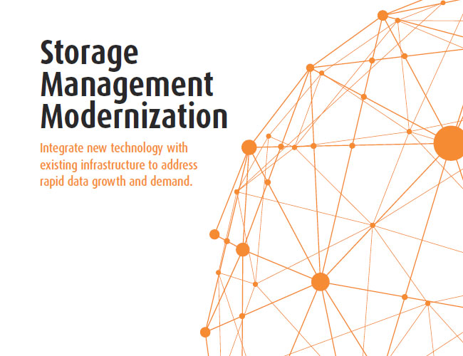 Storage Management Modernization